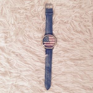 Accessories - AMERICAN FLAG WATCH